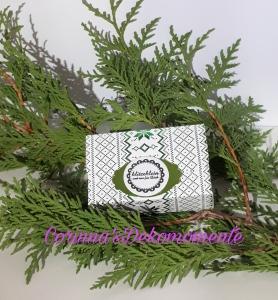 ♥♥Gutscheinkarte/Geldkarte/Verpackung~Weihnachten~Nr.490/3♥♥ (