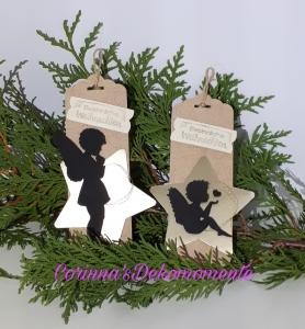 ♥2 Geschenkanhänger-Weihnachten~Nr:604♥