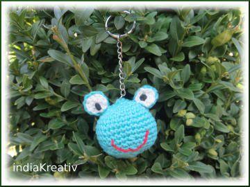 Schlüsselanhänger Frosch, Taschenbaumler