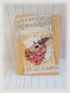 Glückwünsche für Gitarristen, Musiker ,Geburtstagskarte