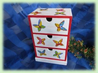 Schubladenbox Schmetterlinge, Utensilo,Aufbewahrung