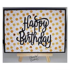Geburtstagskarte ☀ Happy Birthday ☀ Geburtstag