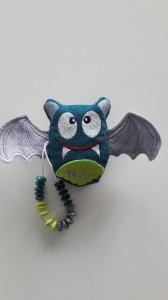 Rechenhilfe Rechentier Zählfledermaus mit Flügeln