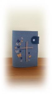 Gotteslobhülle *Kreuz mit Schmetterlingen*