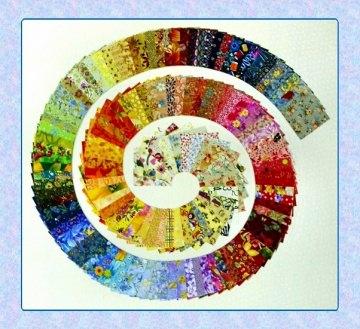 120 Scraps bunt/gemustert à ♥10cm x 10cm♥ Patchwork Stoff Precuts Nähen Quilt Stoffpaket