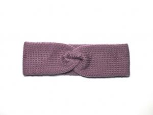 Handgestricktes Stirnband  in einer aparten Farbe für eine kleine Prinzessin - herrlich warm - KU 45 - 50 cm - Handarbeit kaufen