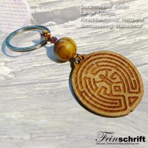 Der Mensch im Labyrinth - Schlüsselanhänger