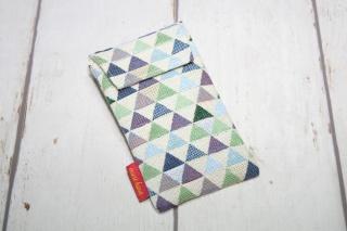 Handytasche Dreieck mit Klettverschluss Gr.L - Handarbeit kaufen