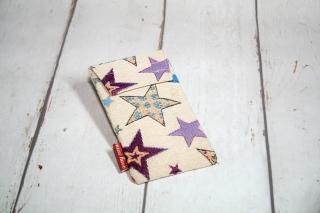 Handytasche bunte Sterne mit Klettverschluss Gr. L