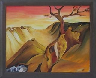 geheimnisvolles Landschaftsbild - ** Das Tal **
