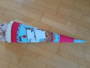 Schultüte mit Piraten - inkl. Papprohling zum Rausnehmen - Handarbeit kaufen