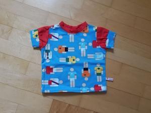 Kinder T-shirt Fußball ohne Bündchen Größe 68-74 - Handarbeit kaufen