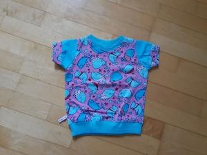 Kinder T-shirt Meerestiere Größe 74 - Handarbeit kaufen