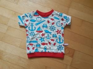 Kinder T-shirt Strandmotive Größe 74  - Handarbeit kaufen