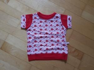 Kinder T-shirt Meeresbewohner Größe 74 - Handarbeit kaufen