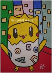 Acrylbild Pop Art Moderne Kunst Malerei auf Leinwand Bild