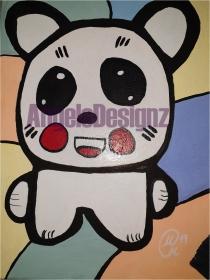 Acrylbild Pop Art Moderne Kunst Malerei auf Leinwand Bild (Kopie id: 100186915)