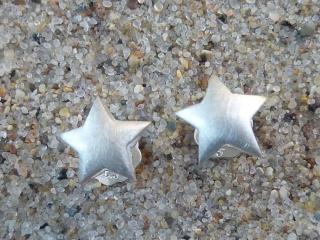 Ohrstecker, kleiner Stern, Silber 925, Paar - Handarbeit kaufen