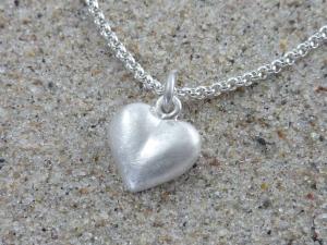 Herz-Anhänger, Silber 925, massiv, ohne Kette