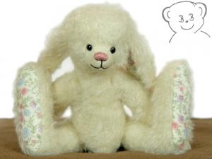 Künstlerbär, Hase, Größe 20 cm, Mohair, Einzelstück OOAK - Handarbeit kaufen