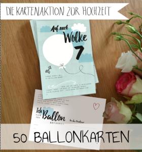 Postkarten Für Ballon Aktion