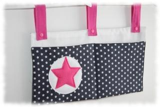 Bett-Tasche Utensilo einzeln angefertigte Kinderbett Tasche