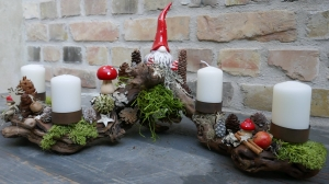 Adventskranz-Moneria-Adventsgesteck-Rebholz- Wichtelzeit -3-