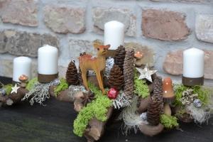 Adventsgesteck-Rebholz-Waldwanderung - Handarbeit kaufen