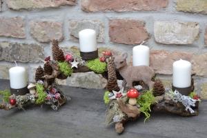 Adventskranz-Adventsgesteck-Rebholz-Wurzel-Rebwurzel-Wurzelgesteck...Waldwanderung-2-
