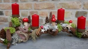 Moneria-Adventsgesteck-Rebholz-little Bambi