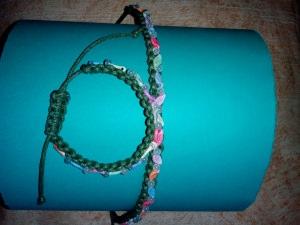 Handgemacht, Diadem und Armband