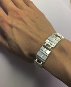 Armband Stufen Retro Vintage Goldschmiedearbeit