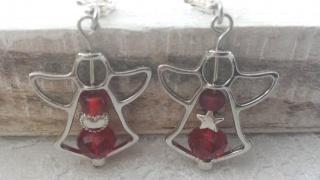 Wunderschöne Schutzengel-Charms 2-er Set als Glücksbringer ein ideales Geschenk für Weihnachten
