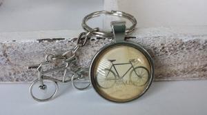 Fahrrad Rennrad Schlüsselanhänger handgefertigt Geschenk Radsport Männer Freund Papa Opa Kollege - Handarbeit kaufen
