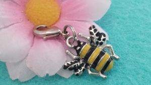 Bienen Anhänger Charms Honigbiene Geschenk für Mädchen Frauen Freundin Imker - Handarbeit kaufen
