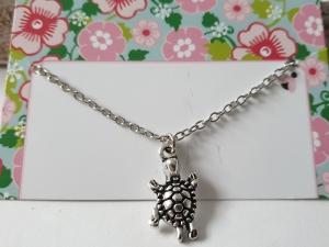Schildkröte Kinderkette Geschenk Mädchen Tochter Enkelin Kindergeburtstag Weihnachten - Handarbeit kaufen