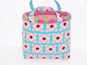 Kindertasche  Mariechen  Kinder Handtasche aus Baumwollstoff und Fleece