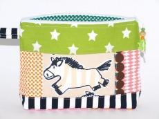 Täschchen Pony Star Schminktäschchen aus Baumwollstoff