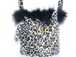 Handtasche Wilde Emma Motivtasche Tiertasche aus Kunstfell handgemacht