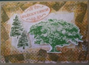 In Vintagestil handgemachte Kartefür Naturliebhaber - Handarbeit kaufen