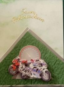 Handgemachte Glückwunschkarte zum bestandenen Führerschein  - Handarbeit kaufen