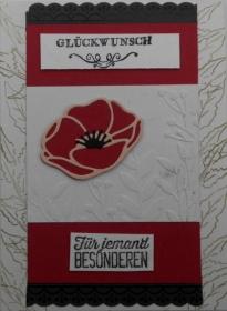 Hübsche handgemachte Grußkarte zum Geburtstag für jemand Besonderen - Handarbeit kaufen