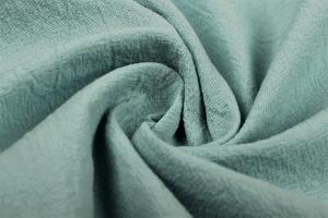 Baumwollstoff, gewaschen, altgrün, pastell, Öko-Tex