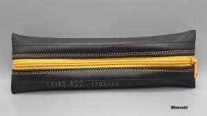 Etui für Stifte oder andere Sachen aus gebrauchtem Fahrradschlauch - Upcycling  - Handarbeit kaufen