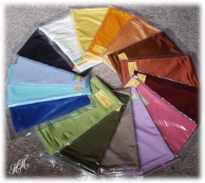 SeidenSchlauchschal, einfarbig, Sommerschal, Farbwahl - Handarbeit kaufen