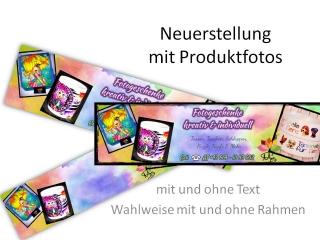 Dein Banner ☆ Neuerstellung ☆ von mir zu dir ☆ mit Produktfotos oder Grafiken