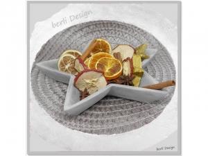 dekorative Schale ☆ aus Beton und Kunstharz ☆ 22cm