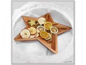 dekorative Schale Kupfer ☆ aus Gips und Kunstharz  ☆ 30cm