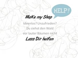 Make my Shop ♥ Verbesserung für Deinen Shop