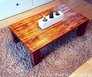 """Palettenmöbel Couchtisch """"klassisch"""" - Wohnzimmer"""